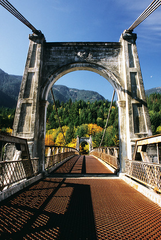 Frasier River Bridge, British Columbia, 2004