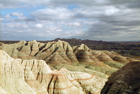 Badlands Nation Park no.3, South Dakota, 2009 image