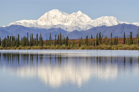 Denali Broad Pass Reflection 2011
