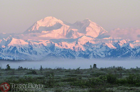 Denali 4am Sunrise