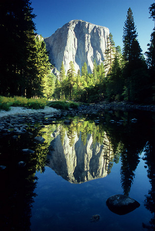 El Cap at Sunrise, Yosemite Nat. Park, 2004 image