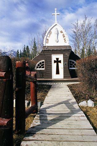 Our Lady of the Way, Haines Junction, Yukon 2004