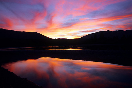 Kootenie River Sunset, 2006