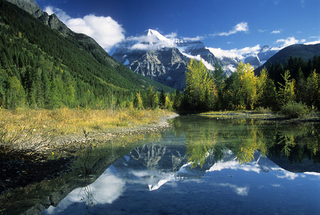 Mt. Robson Reflection, Canadian Rockies, 2009