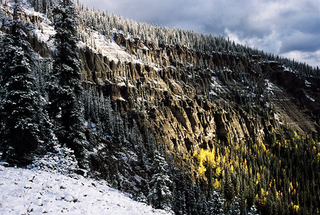 Fall Creek Pass, Big Blue Wilderness, Colorado, 2001