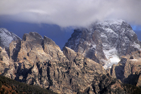 Grand Teton capper in cloud, 2007