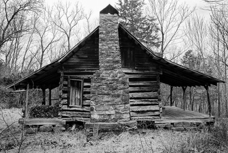 Peter Cabin, Newton County Arkansas 2004