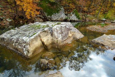 Richland Creek Boulder and Light
