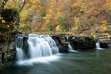 Richland Creek Falls 15 Fall